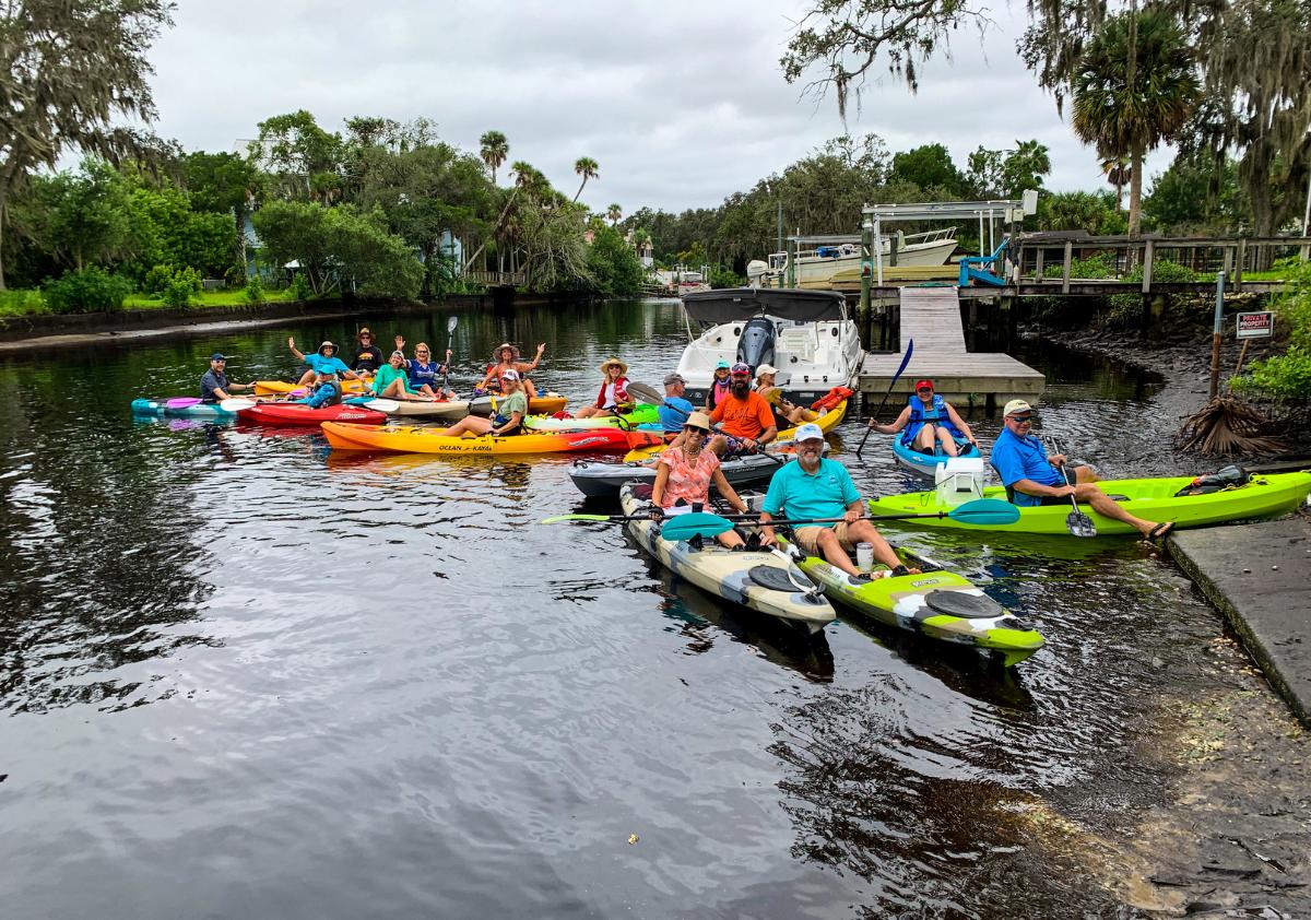 Kayaking the 'Cotee River