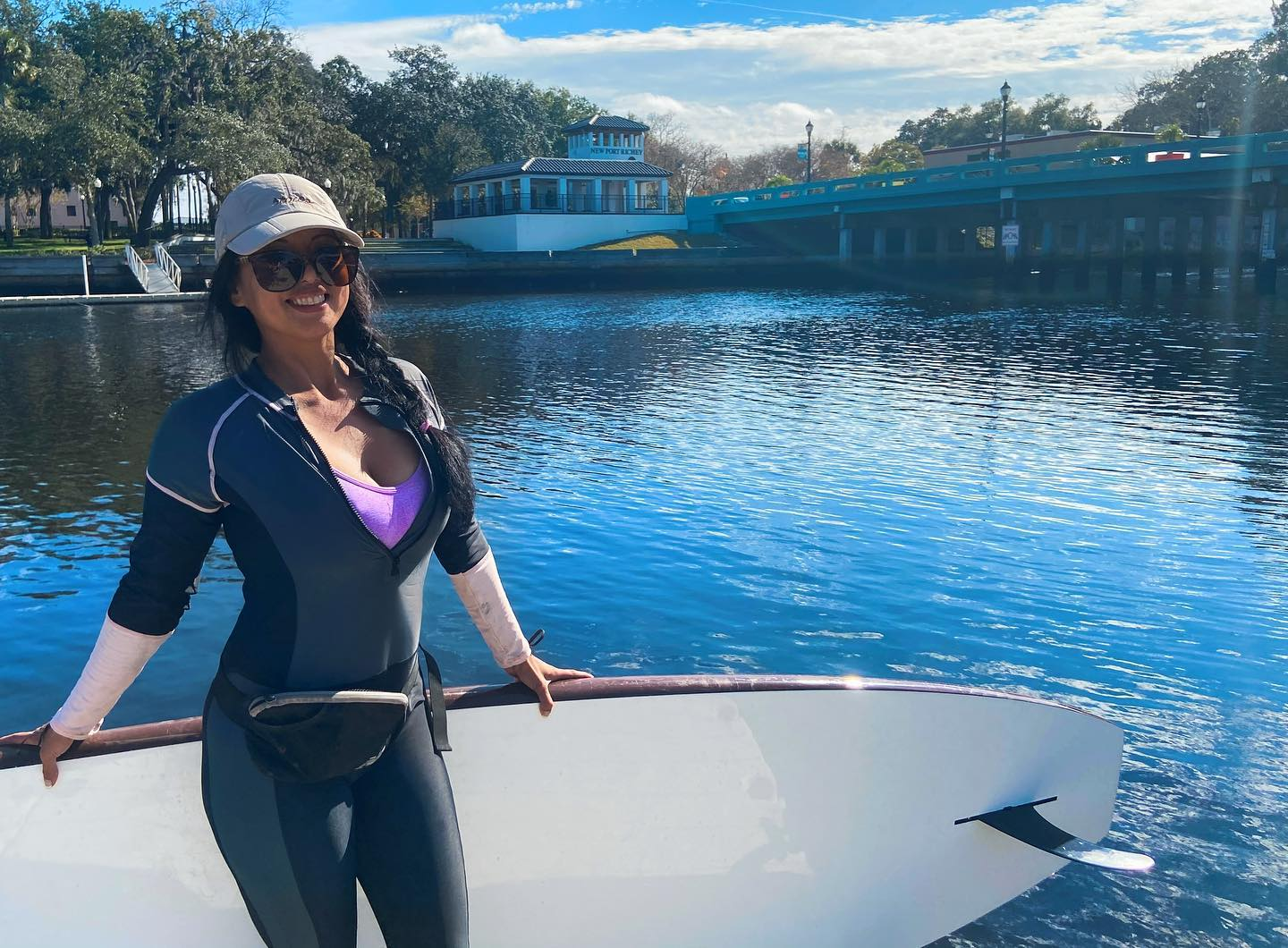 Ebb and Flow Paddleboards brings fitness to Sims Park